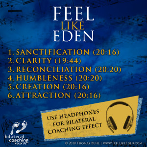 EMDR Coaching Music feel like eden