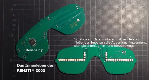 EMDR Geraet REMSTIM 3000 Elektronik Platine