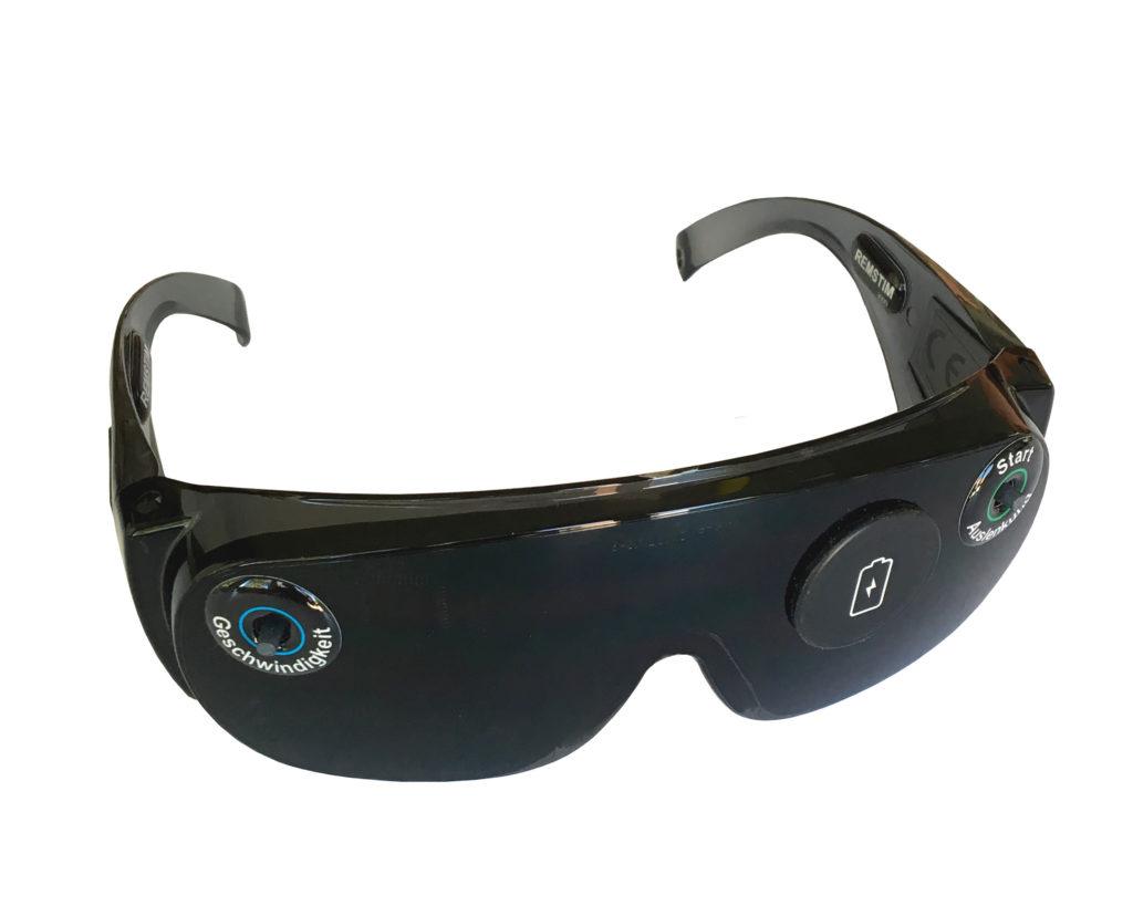 EMDR-Brille REMSTIM 3000 Modell 2020 - frontal 1